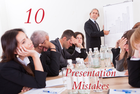 10 Common Mistakes Presenters Make